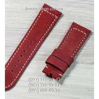 Ремешок для часов Officine Panerai Nubuck Red-Black (24х22 мм)