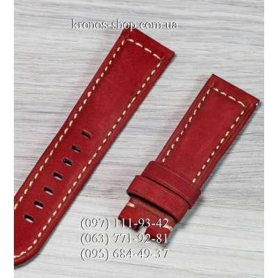 Ремешок для часов Officine Panerai Nubuck Red-Black (22х20 мм)