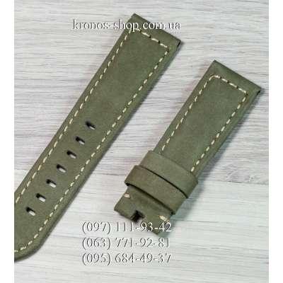 Ремешок для часов Officine Panerai Nubuck Military Green-Black (22х20 мм)