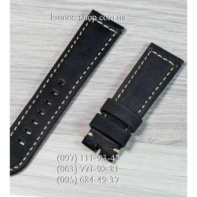 Ремешок для часов Officine Panerai Nubuck All Black (22х20 мм)