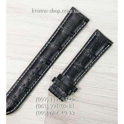 Ремешок для часов Longines Classic Black-White (22х18 мм)