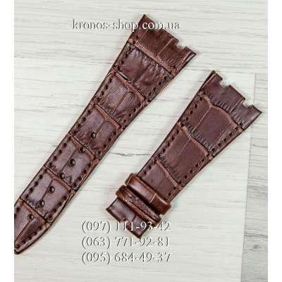 Ремешок для часов Audemars Piguet Leather All Brown (27x18 мм)