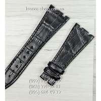 Ремешок для часов Audemars Piguet Leather All Black (27x18 мм)