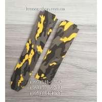 Ремешок для часов Hublot Camouflage Yellow/Black (25х22 мм)
