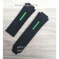 Ремешок для часов Hublot King Power Black/Green (28х24 мм)