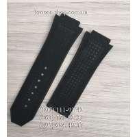 Ремешок для часов Hublot Nubuck Perforation Black (28х24 мм)