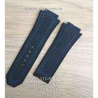 Ремешок для часов Hublot Nubuck Perforation Blue (28х24 мм)