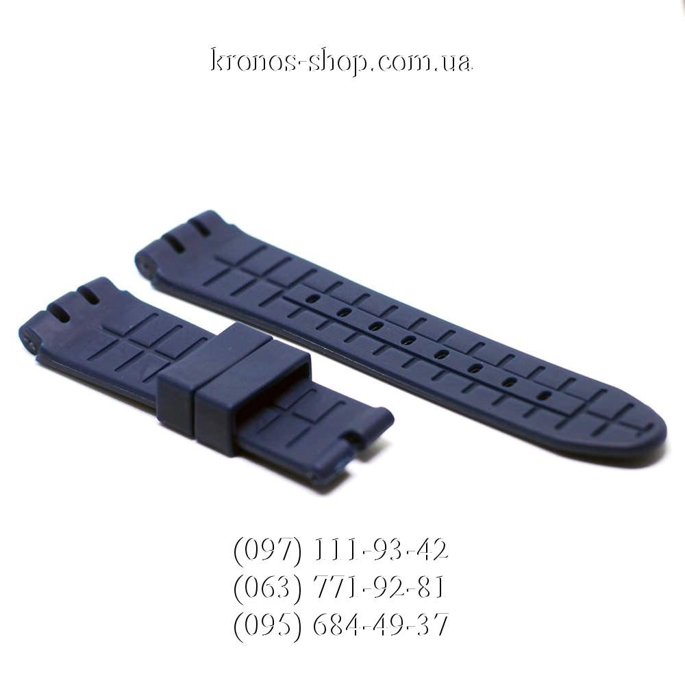 Ремешок для часов Swatch Rubber Blue (27х22 мм) купить в интернет ... eb3debccd09